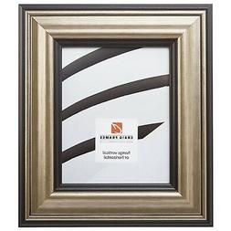 """Craig Frames 3"""" Wide Aged Silver w/ Black Accent Picture Fra"""