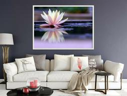3D Water Lily 55 Fake Framed Poster Home Decor Print Paintin