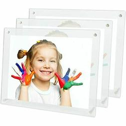 - 8.5x11 Clear Acrylic Picture Frames For Certificate Docume