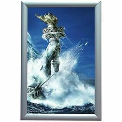Aluminum Snap Frame For Poster 11 X 17 Inches, 25mm Profile,