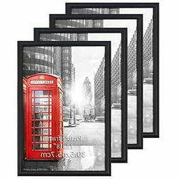 Calenzana 4 Pack 12x18 Poster Picture Frames Black Photo Fra