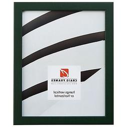 """Craig Frames Colori, 0.80"""" Modern Green Picture Frame Poster"""