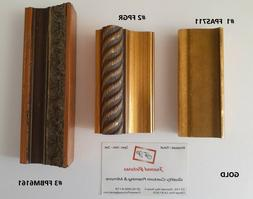 Custom Picture Frames Wood | Gallery Gold | Painting | Poste