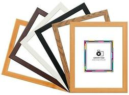 Flat Modern Wood Effect Picture Poster Photo Frames A1 A2 A3