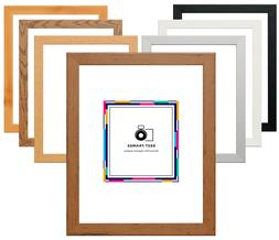 Flat Wood Effect Photo Frames Modern Picture Frame Panoramic