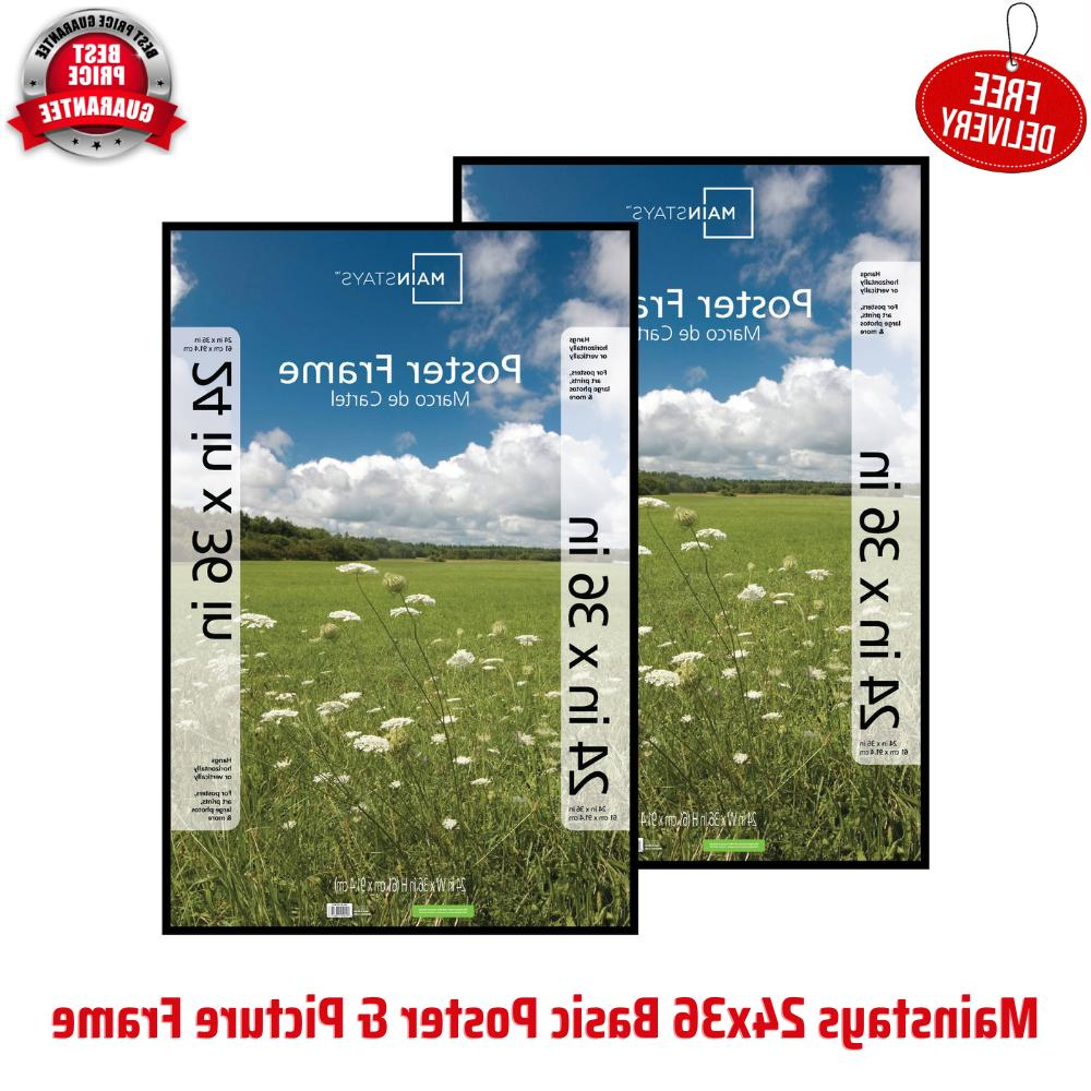 24x36 Basic Poster & Picture Frame, Home Office and Business