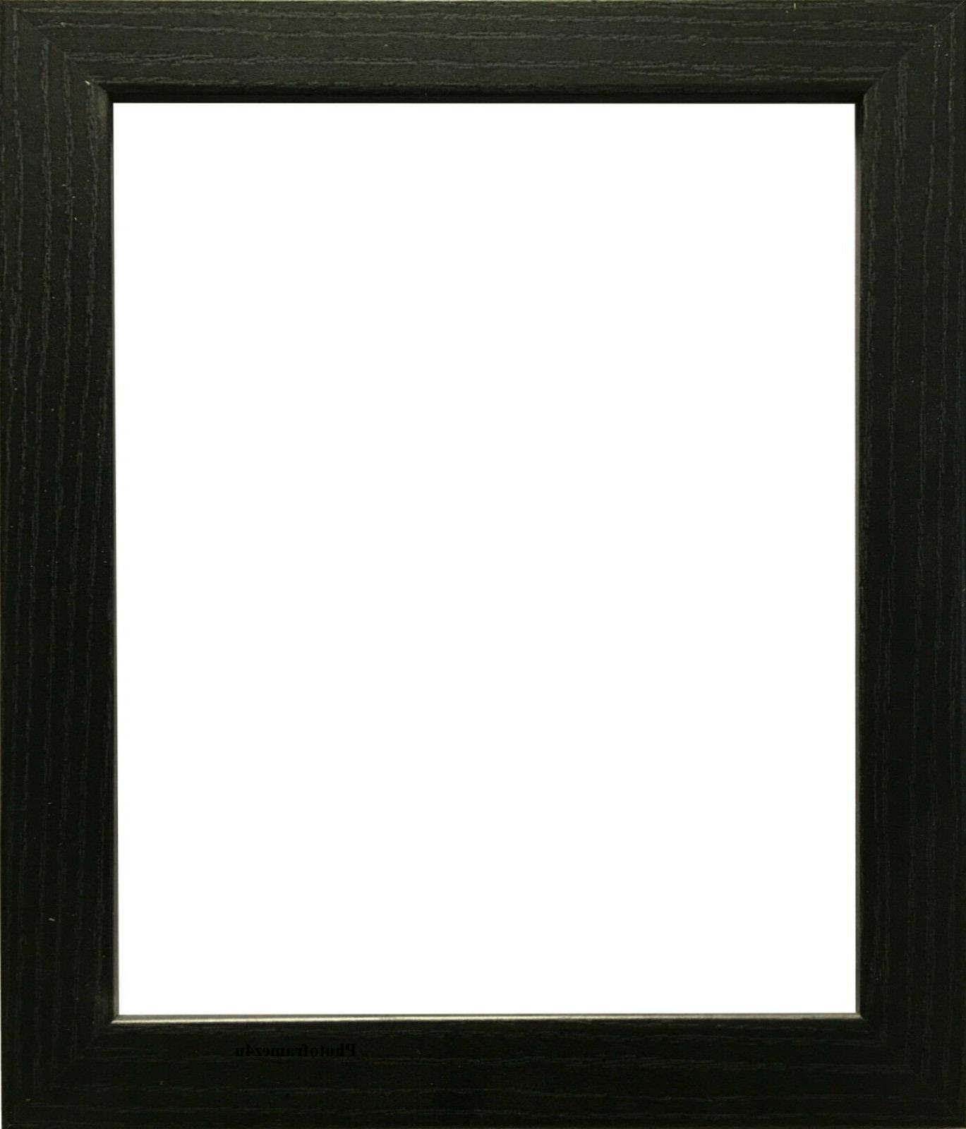 black photo frame picture frame poster size