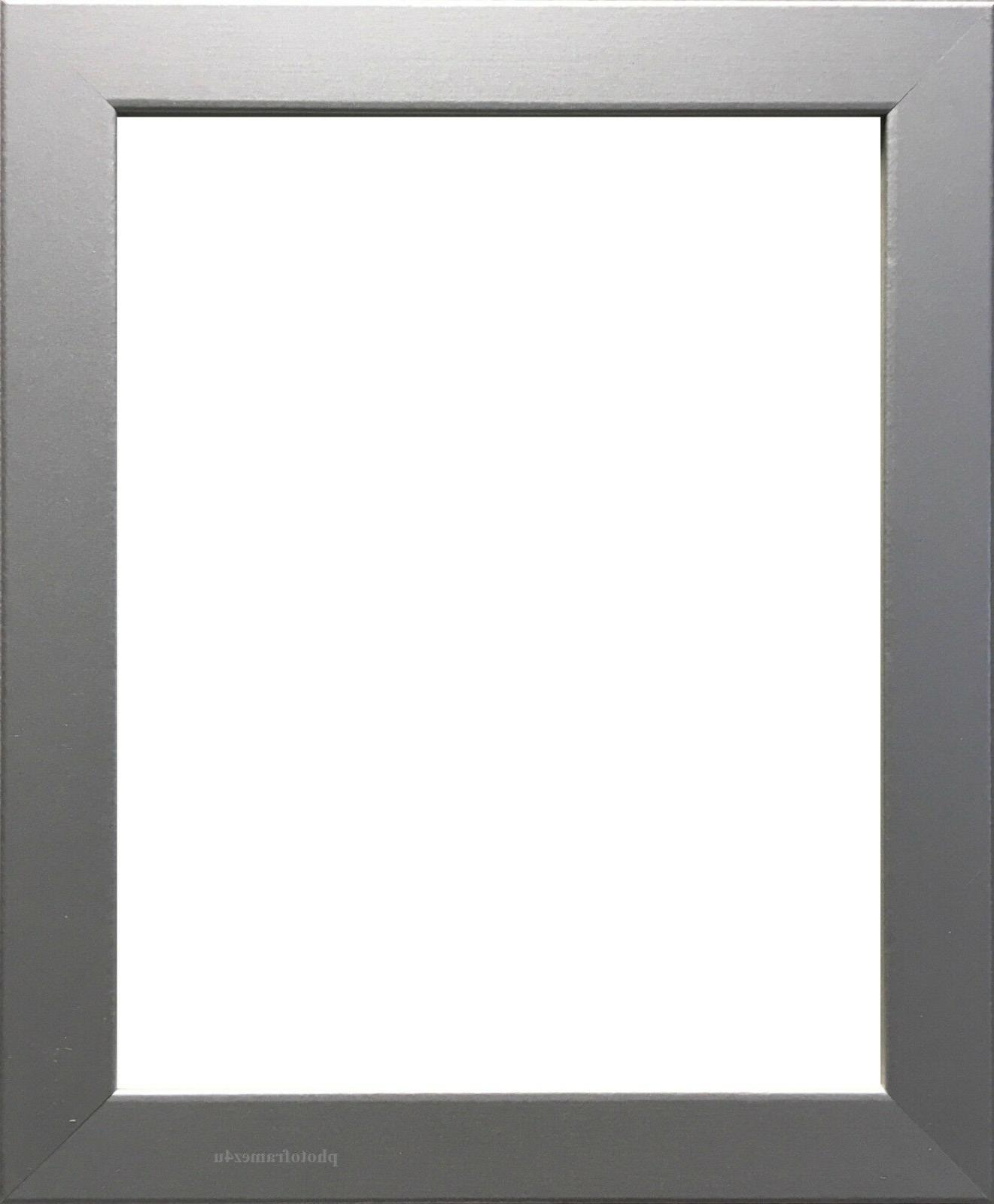 silver photo frame picture frame poster frame