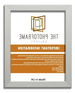 Matt Silver Picture Frames Poster Frames Square Rectangle Pa