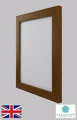 """Oak Photo Picture Poster Panoramic Frames All sizes 13x13""""-2"""