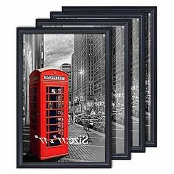 PETAFLOP 11x17 Poster Frames Black Wall Mounting Picture Fra