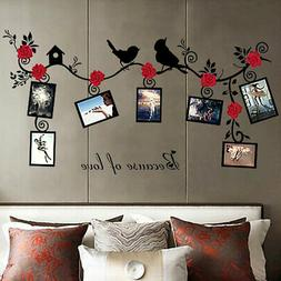 Photo-Frame Poster Removable Wallpaper Wall-Sticker Bedroom