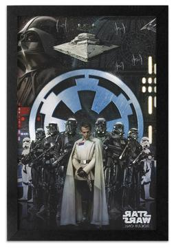 rogue one imperial army 13x19 framed gelcoat
