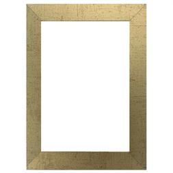 """US Art Frames 1"""" Flat Antique Gold MDF Wall Decor Picture Po"""