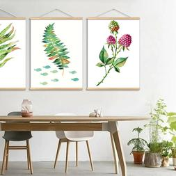 Wall Art Green Plant Canvas Print Painting  for Living room