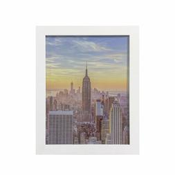 Frame Amo White Wood Picture Frames or Poster Frames, 1 inch